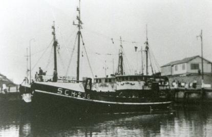 SCH 236 in de haven