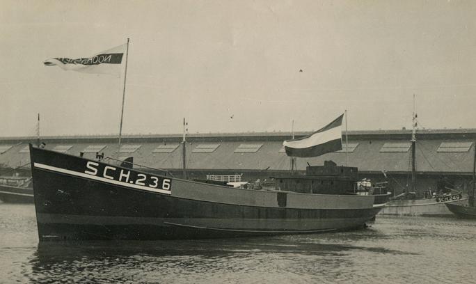 sms de noordster 1949 te water
